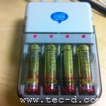 アルカリ電池を充電して再利用
