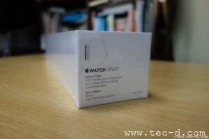 AppleWatchの箱